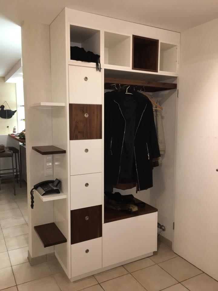 schreinerei julian grimm ideen mit holz der schreiner in fellbach garderobe. Black Bedroom Furniture Sets. Home Design Ideas